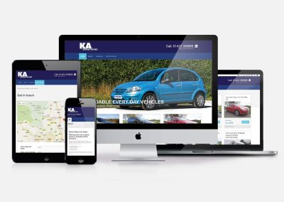 Kevin Adey Car Sales Website