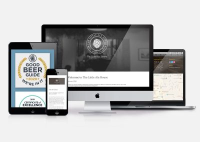 The Little Ale House Website-