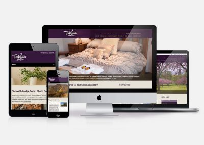 Tockwith Lodge Barn Letting Website